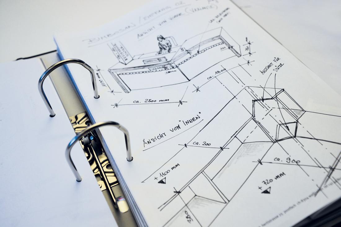 Plan des Showrooms