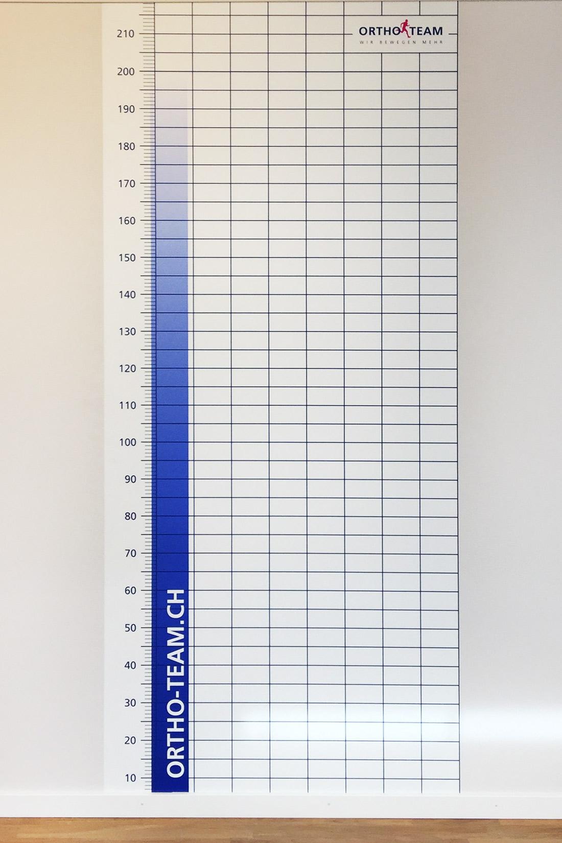 Stabiler Wand Meter für die Patient