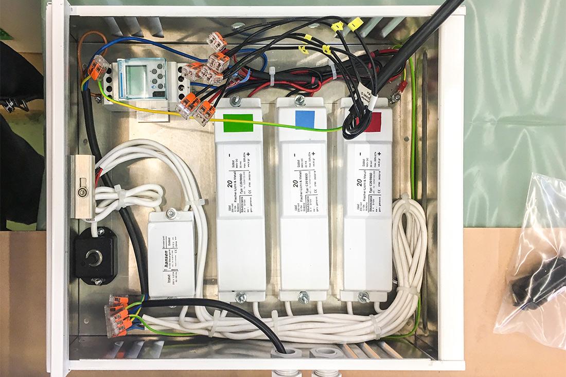 Wasserdichte Transformatoren-Kisten, diskret und sicher verpackt