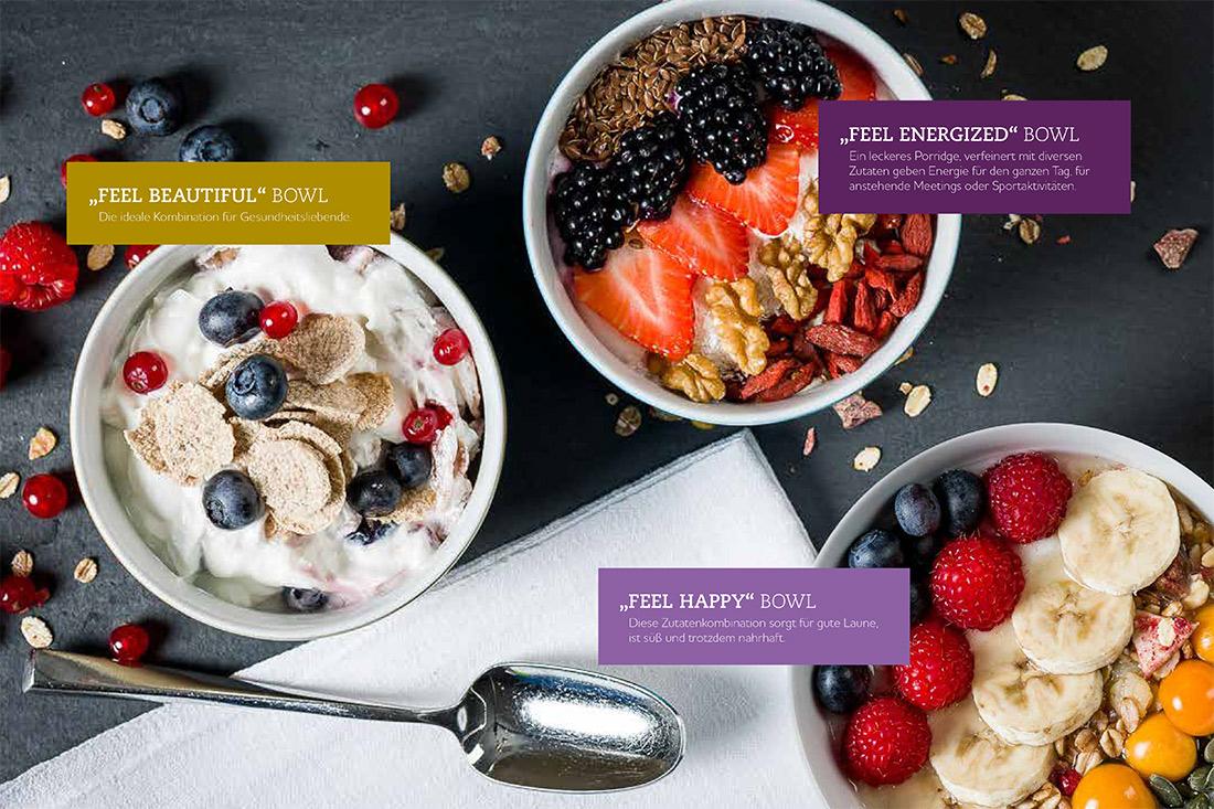 Die Attribute «Feel Happy», «Feel Energetic» und «Feel Beautiful» sorgen nun für ein ganz besonderes Frühstückserlebnis